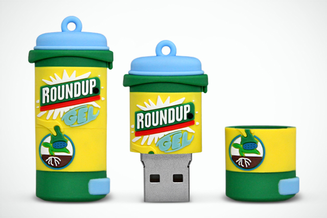 Roundup Gel Product Replica CustomUSB Flash Drive