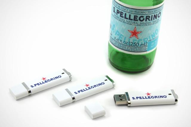 S.Pellegrino Custom DE USB Drive