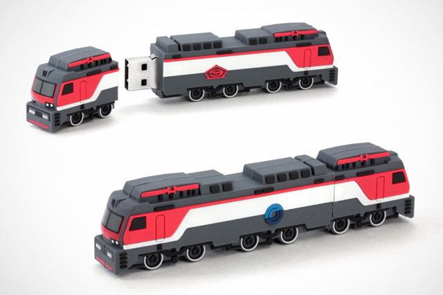 Custom Nevs Train USB Drive