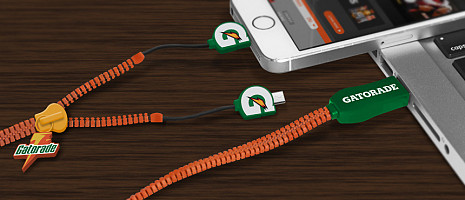 100% Custom USB Charging Cables